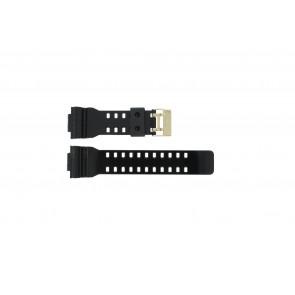 Casio correa de reloj A-110GB-1A Goma Negro 16mm