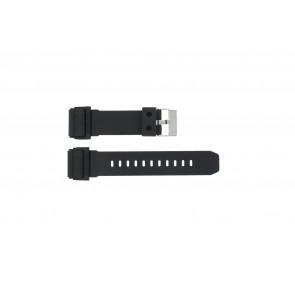Correa de reloj GD-400-1W / 10475776 Silicona Negro 26mm
