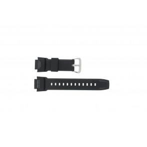 Casio correa de reloj PRG-270-1 Goma Negro 16mm