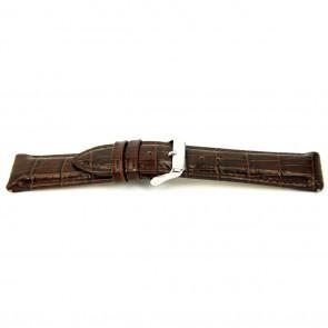 Correa de reloj I035 XL Cuero Marrón 24mm + costura predeterminada