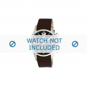 Dolce & Gabbana correa de reloj 2519774184 Cuero Marrón oscuro