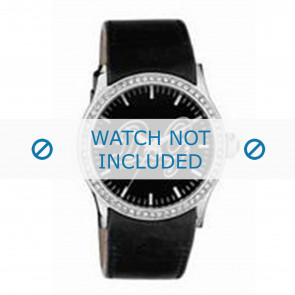 Dolce & Gabbana correa de reloj DW0267 Cuero Negro