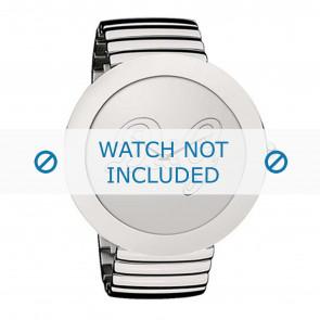 Dolce & Gabbana correa de reloj DW0280 Metal Plateado
