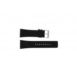 Danish Design correa de reloj IQ12Q641 / IQ12Q767 / IQ14Q641 / IQ13Q641 Piel Negro 28mm