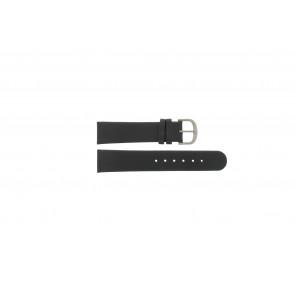 Danish Design correa de reloj IQ13Q672 / IQ12Q993 / DDBL20 Cuero Negro 20mm