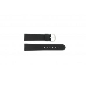 Correa de reloj Danish Design IQ13Q272 / IQ12Q272 / IQ14Q199 / IQ16Q563 Cuero Negro 18mm