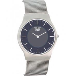 Correa de reloj Davis 9800 / BB980018 Acero Acero