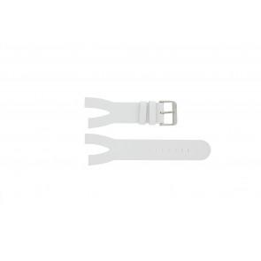 Davis correa de reloj BB1401 Piel Blanco 30mm