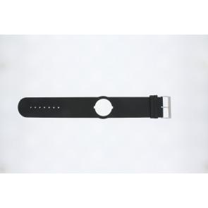 Jacques Lemans correa de reloj DC500 Cuero Negro