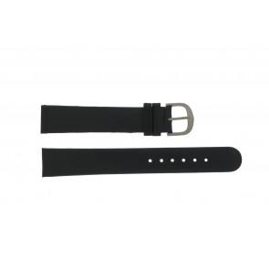 Danish Design correa de reloj DD18mmXL Cuero Negro 18mm
