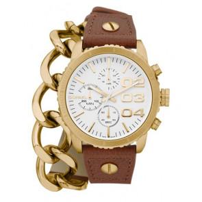 Correa de reloj Diesel DZ5308 Cuero Marrón 18mm