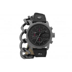 Correa de reloj Diesel DZ5309 Cuero Negro 22mm