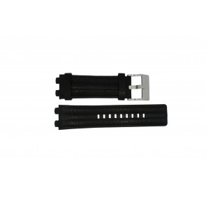 Correa de reloj Diesel DZ4118 / DZ4119 Cuero Negro 24mm