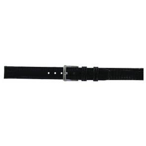 DKNY correa de reloj NY-3434 Piel Negro 14mm