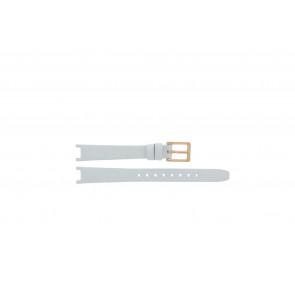 DKNY correa de reloj NY8784 Cuero Blanco 13mm + costura predeterminada