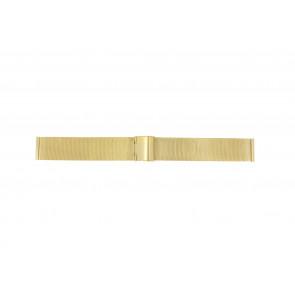 Correa de reloj Universal MESH-DOUBLE-18MM Acero Chapado en oro 18mm
