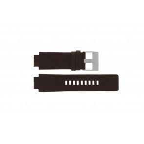 Diesel correa de reloj DZ1123 / DZ1090  Cuero Marrón 18mm