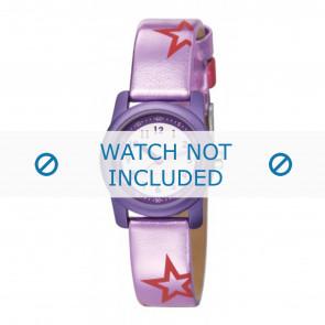 Esprit correa de reloj ES000FA4-40PA / 000FA4038 / 000FA4 Cuero Púrpura