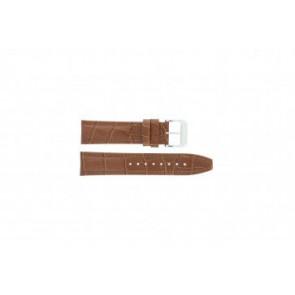 Festina correa de reloj F16081/8 Piel Marrón 22mm + costura marrón
