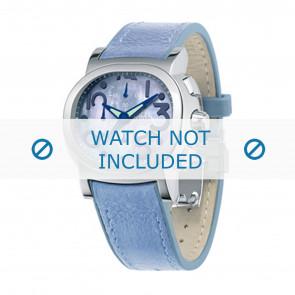 Festina correa de reloj F16125.2 Cuero Azul  23mm + costura azul