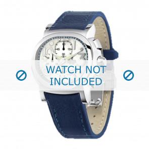 Festina correa de reloj F16125.1  Cuero Azul  23mm + costura azul