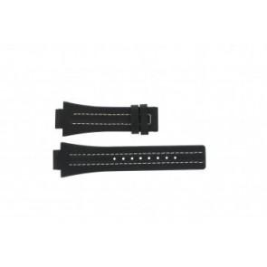Correa de reloj Festina F16185 / 1 Cuero Negro 16mm