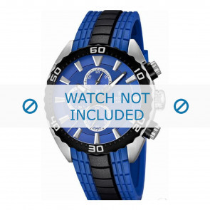 Festina correa de reloj F16664/6  Caucho / plástico Azul  23mm