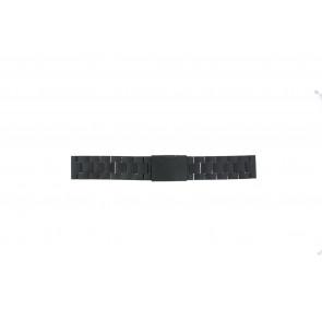 Fossil correa de reloj CH2816 Metal Negro 20mm