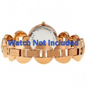 Fossil correa de reloj ES-3011 Acero Dorado (Rosé) 24mm