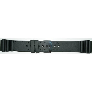 Correa de reloj SL100 Silicona Negro 18mm