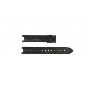 Guess correa de reloj GC24001L2 / GC15000 Piel Negro 16mm