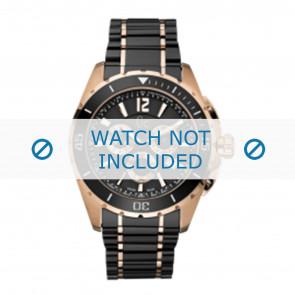 Guess correa de reloj GC55000G Cerámica Negro