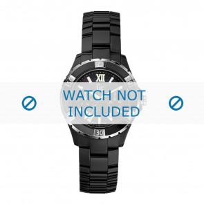 Guess correa de reloj X69002L2S / X69004L2S Cerámica Negro