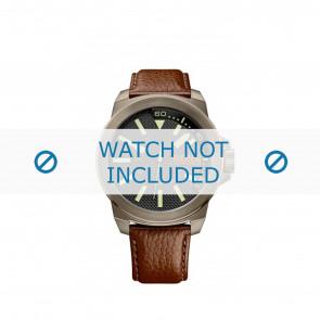 Correa de reloj Hugo Boss HB-238-1-34-2757 / 1513168 Cuero Marrón 24mm