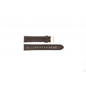Correa de reloj Hugo Boss HB-334-1-34-3114 / HB1513640 / HB659302886 Cuero Marrón 20mm