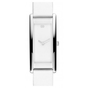 Correa de reloj Danish Design IV12Q937 Cuero Blanco 15mm