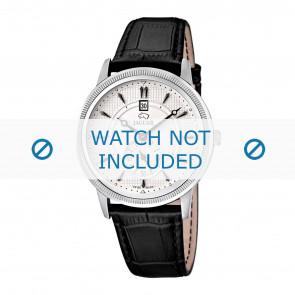 Correa de reloj Jaguar J664/1 Cuero Negro 22mm
