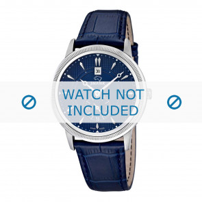 Correa de reloj Jaguar J664/2 Cuero Azul 22mm