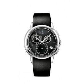 Correa de reloj Calvin Klein K1V27102 / K600000091 Cuero Negro 22mm