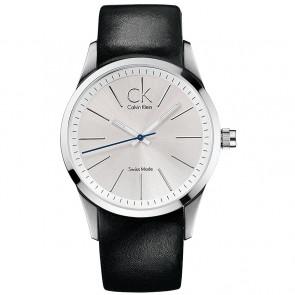Correa de reloj Calvin Klein K2241126 Cuero Negro