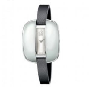 Calvin Klein correa de reloj K2E236-K600000084 Cuero Gris 9mm