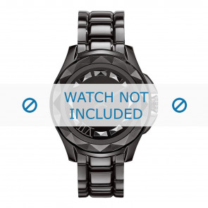 Correa de reloj Karl Lagerfeld KL1001 Acero Negro 20mm
