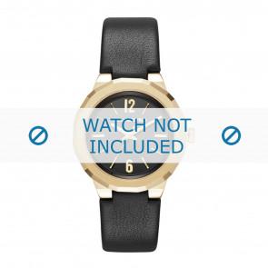 Karl Lagerfeld correa de reloj KL3410 Cuero Negro