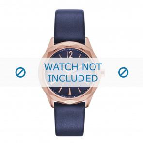 Karl Lagerfeld correa de reloj KL4004 Cuero Azul