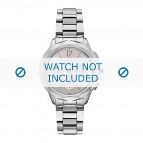 Karl Lagerfeld correa de reloj KL4005 Metal Plateado