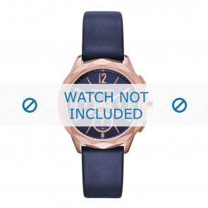 Karl Lagerfeld correa de reloj KL4010 Cuero Azul