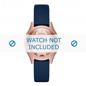 Karl Lagerfeld correa de reloj KL1632 Cuero Azul