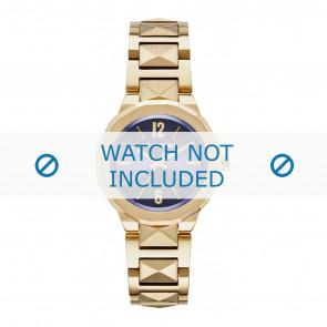 Karl Lagerfeld correa de reloj KL3407 Metal Chapado en oro
