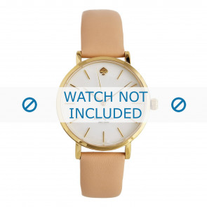 Correa de reloj Kate Spade New York 1YRU0073 Cuero Osa 16mm