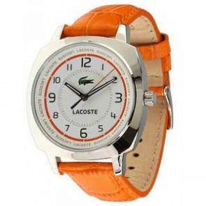 Correa de reloj Lacoste 2000600 / LC-47-3-14-2233 Cuero Naranja 18mm